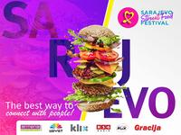 Sarajevo Street Food Fest Banner