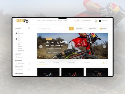 Craft Bike Land Page