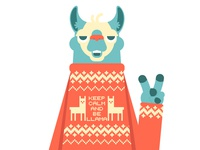 peace and llamas!