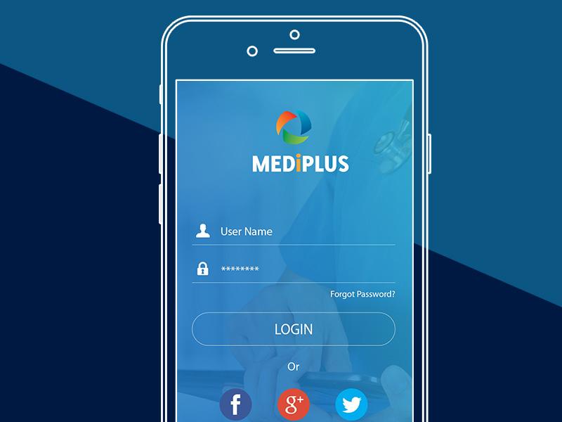 MediPlus Mobile App design app mobile medical
