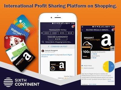 International Profit Sharing Platform on Shopping