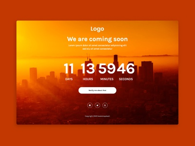 Coming Soon Templates design html landing page template design templates