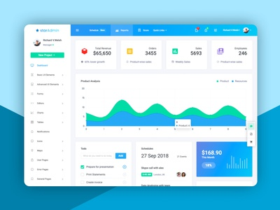 Laravel Admin Template ui admin dashboard ux admin website design bootstrap bootstrap 4 product dashboard