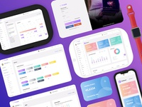 Purple Admin Dashboard