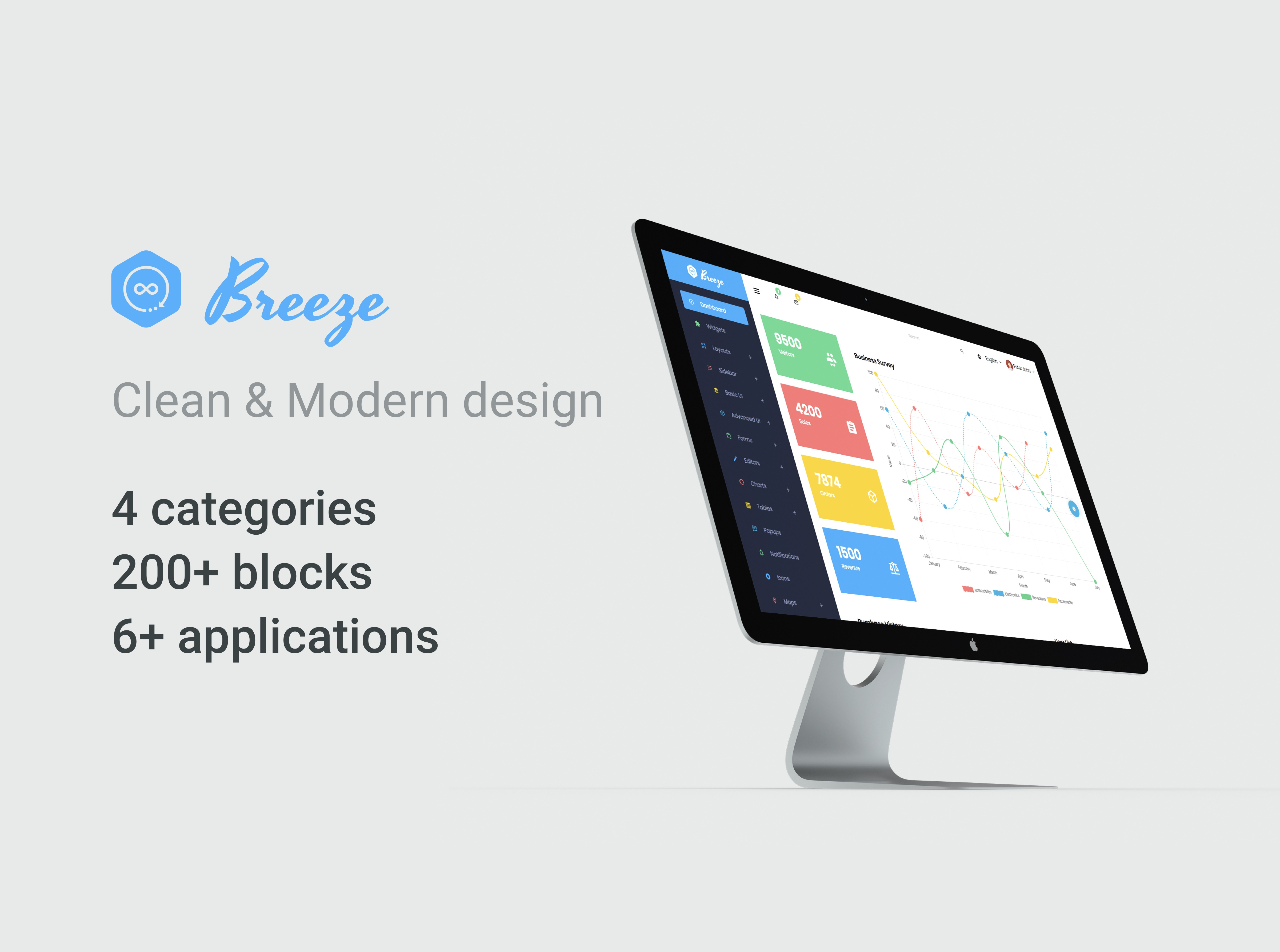 Breeze dribbble 1