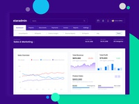 Sales & Marketing Dashboard staradmin