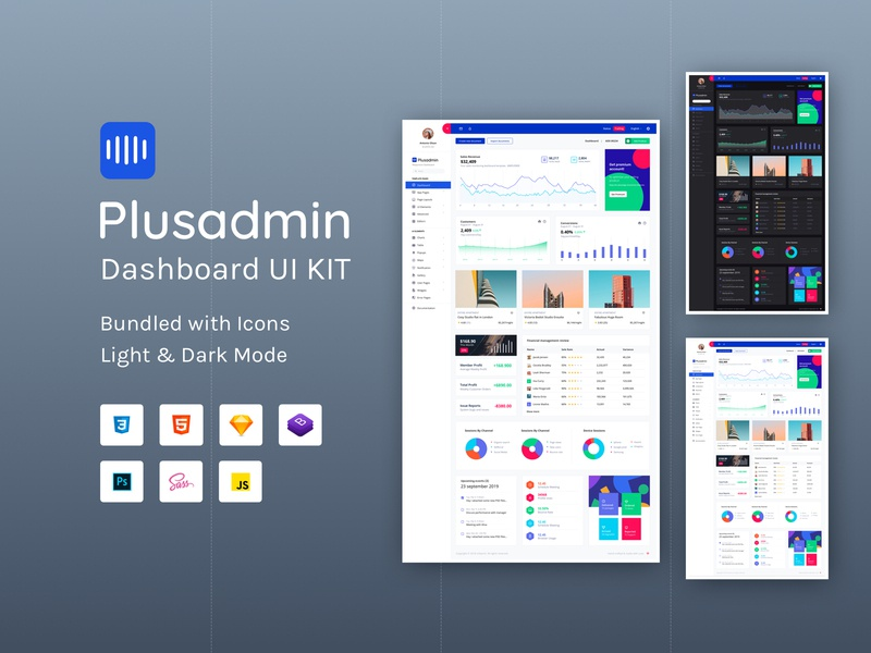 Plusadmin colors app uikits ui design business statistics table cards widget components analytical website ux bootstrap 4 bootstrap chart dashboard graph webapp