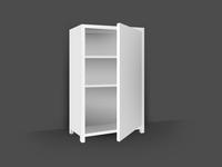 Empty Cabinet