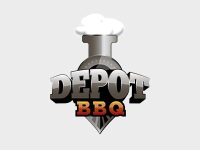 Depot BBQ Logo - Concept