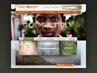 East West Landing Page