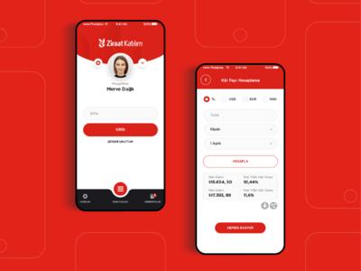 Participation bank app concept design