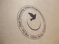 DOVE's Branding: Rubber Stamp
