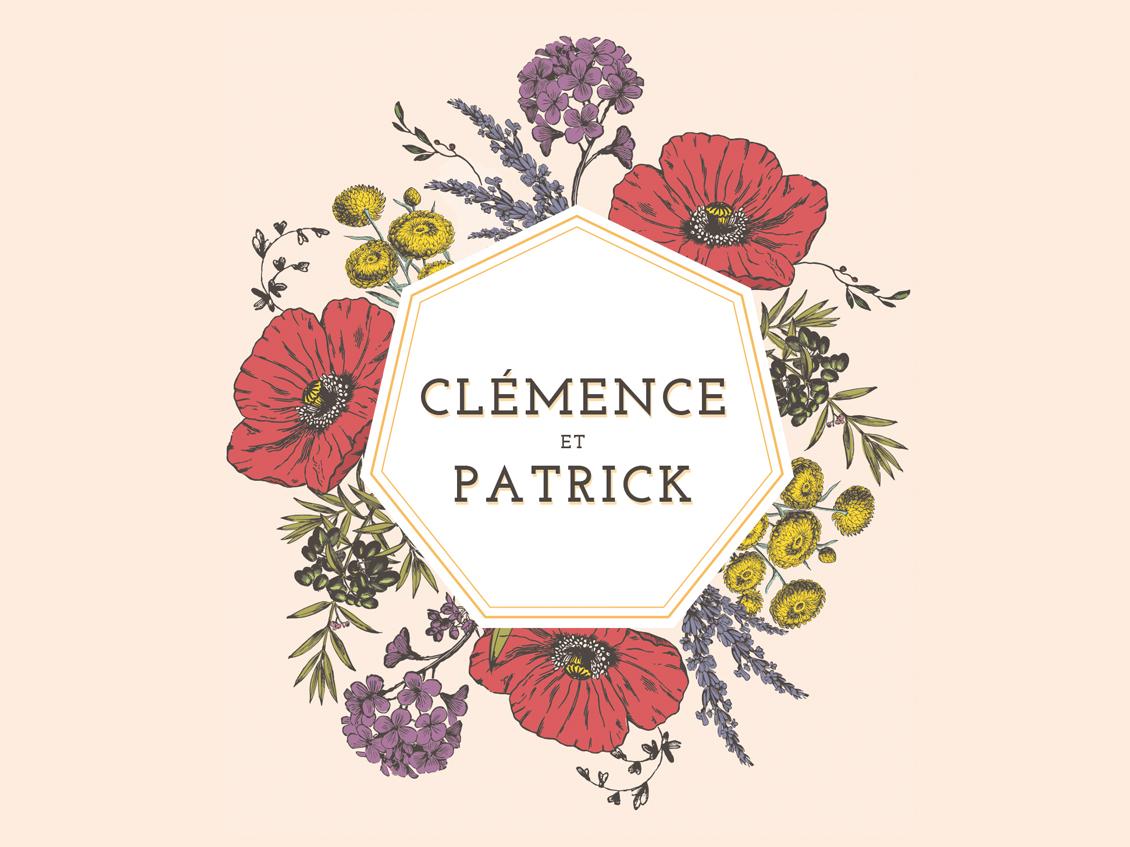 Wedding Stationery Design stationery floral design design branding illustration wedding