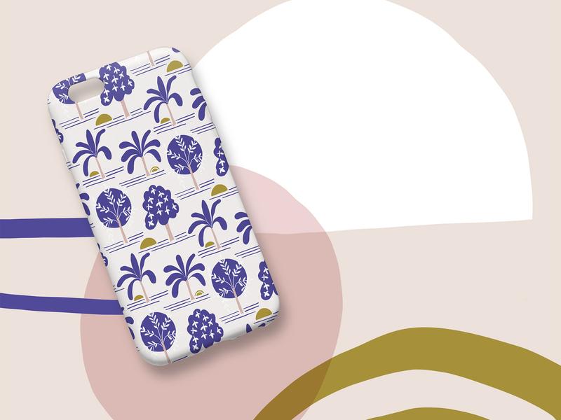 Pattern Design - IPhone Case vector pattern illustration iphone decoration design surface design pattern design