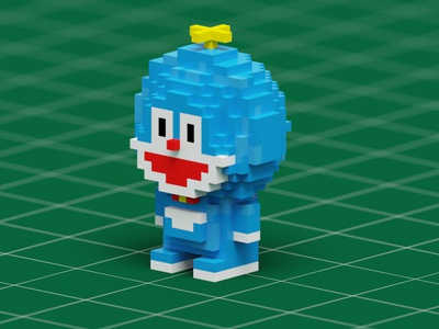 Doraemont Voxels