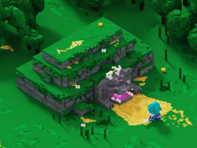 Dungeon Voxels