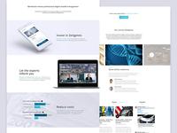 Werthstein - Homepage improvements