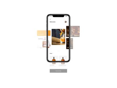 UI kit - Whisky app