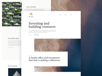 Investment organisation - Home