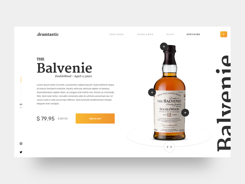 Whisky shop - Desktop Exploration shop whisky concept