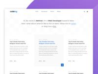 Minimal Blog Exploration
