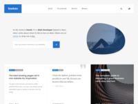 Minimalistic Blog Concept