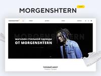 MORGENSHTERN.SHOP Internet shop and design development