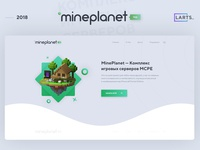 MinePlanet - MineCraft project Template #PSD #HTML