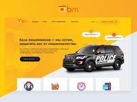 BM — Scam Database Website development and design