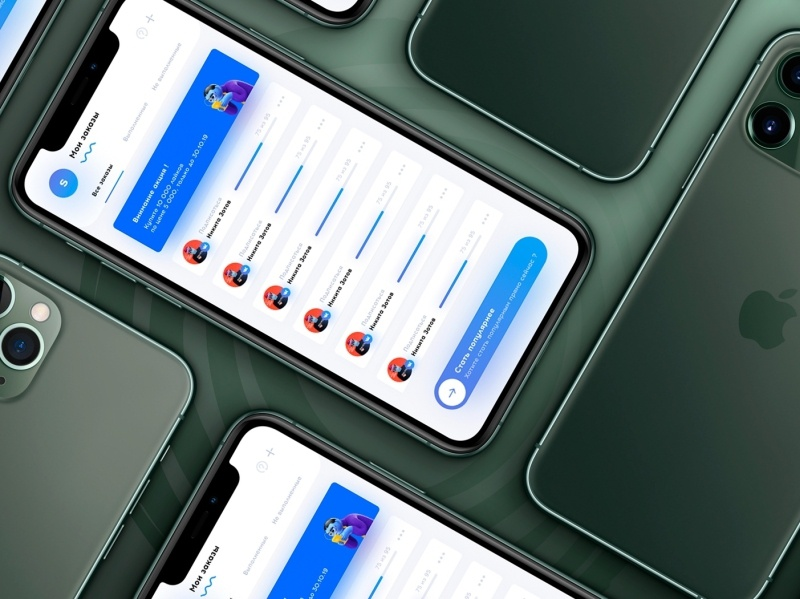 My Order to App SocPult iphone ios iphone 11 pro max apple design ui uiux minimal mobile ui cheat promotion socialmedia social puilt social mobile mibule app order my