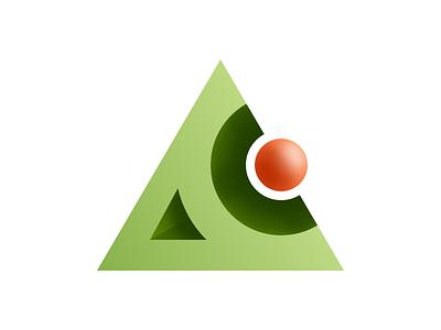 AC Logo Concept concept skeuomorphism design sign identity logotype logo