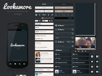 Lookamore android ui kit realpixel