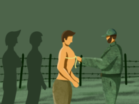 Army selection - ( 15/100 ) Daily Illustration Challenge