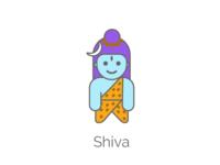 Lord Shiva - (37/100 ) Daily Illustration Challenge