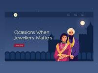Jewelry Blog Landing Page