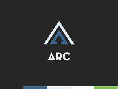 Arc arc monogram a logo logo