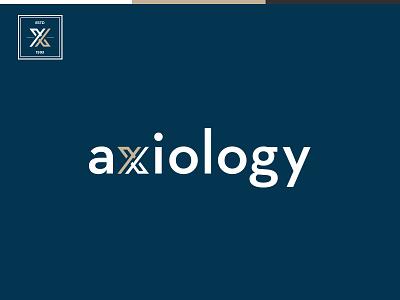 Axiology creatitive monogram logotype