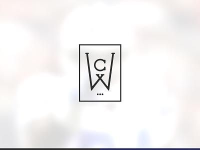 NFL Retired DE CW Athlete Branding athlete branding creatitive logo sports nfl monogram