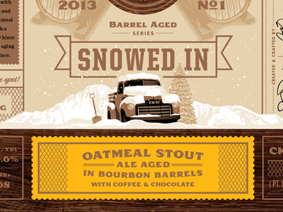 Snowed In Oatmeal Stout