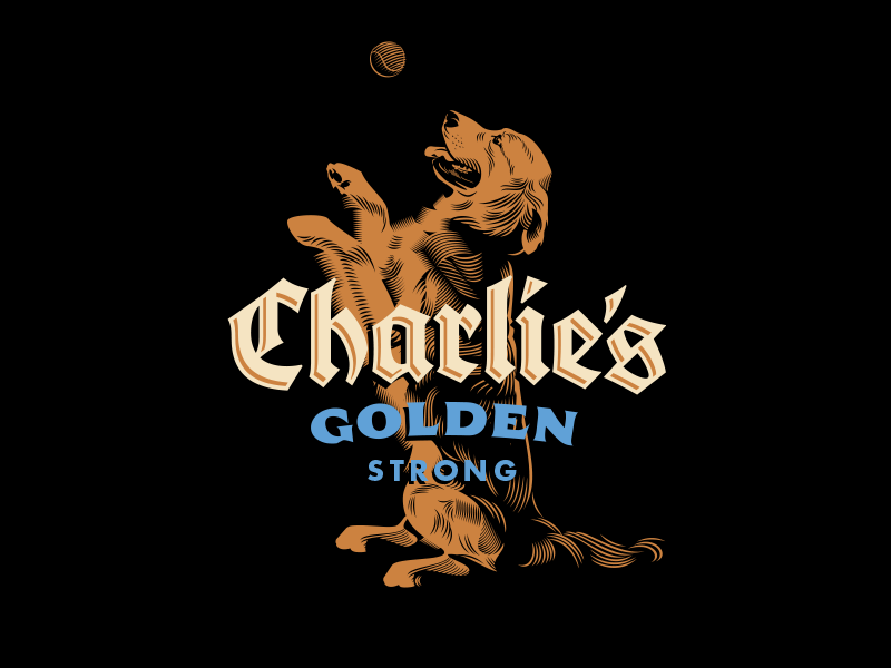Charlies golden logo