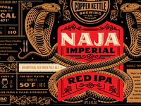 Copper Kettle Naja Imperial Red IPA
