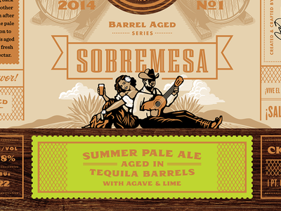 Copper Kettle Sobremesa Summer Pale Ale