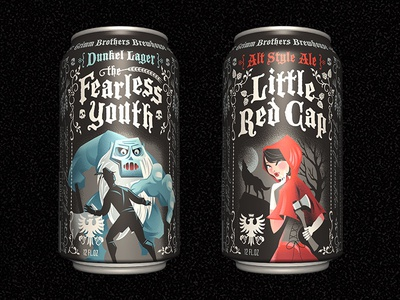 Grimm Brothers Brewhouse Cans