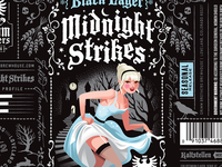 Grimm Brothers Midnight Strikes Black Lager