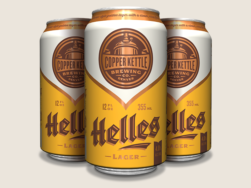 Copperkettle helles can group