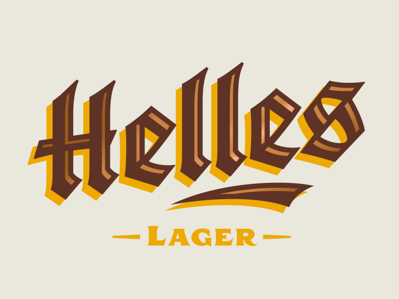 Copperkettle helles typeset