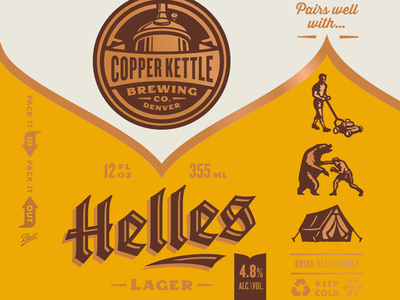 Copper Kettle Helles
