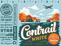 Uinta Contrail White Beer - Final