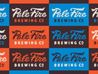 Pale Fire Rejected Logotype