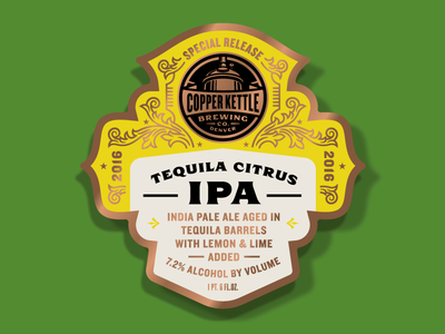 Copper Kettle Special Release Tequila Citrus IPA